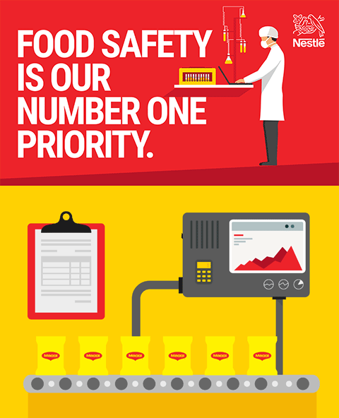 Food safety is our number one priority