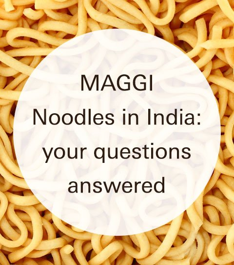 MAGGI Noodles in India