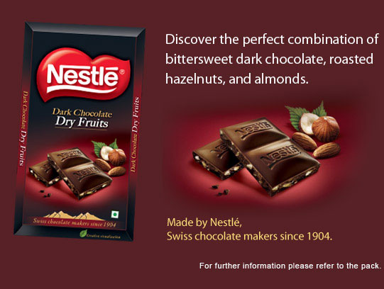 NESTLÉ DARK CHOCOLATE Dry Fruits | Nestlé India