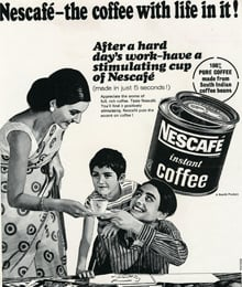 nescafe in india Nescafe is one of the oldest and renowned coffee brands in india which is from nestle india limited this coffee brand has several manufacturing units across the country and it is the first best selling coffee brand in india by taking 55% of shares in indian coffee market.