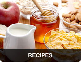 Recipes section