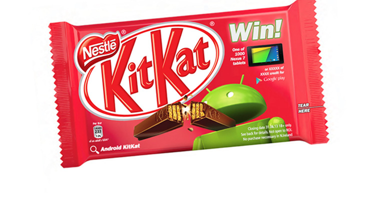 Google and Nestlé announce Android <em>KitKat</em>