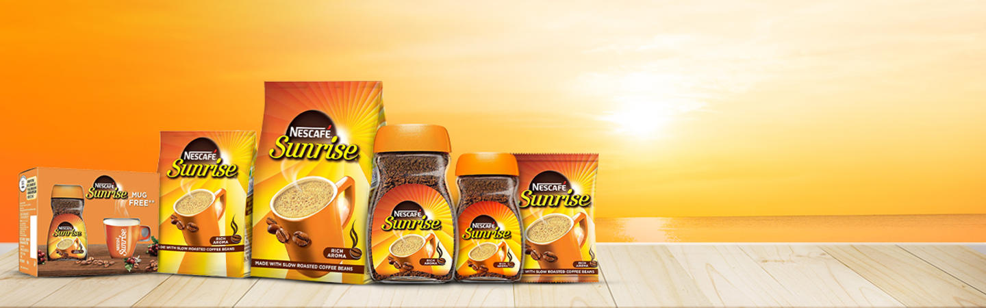 NESCAFÉ SUNRISE