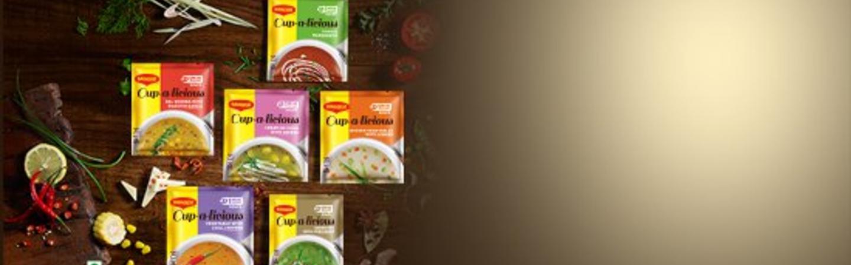 MAGGICup-a-licious Soups
