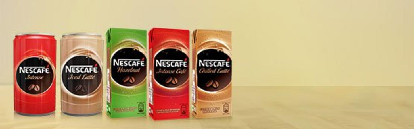 NESCAFÉ Ready-to-drink range